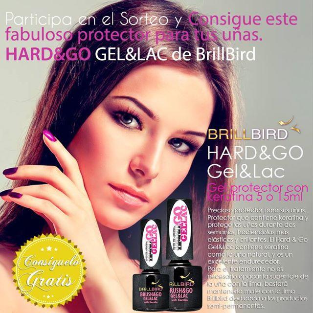 SORTEO Hard&Go Gel&Lac de BrillBird