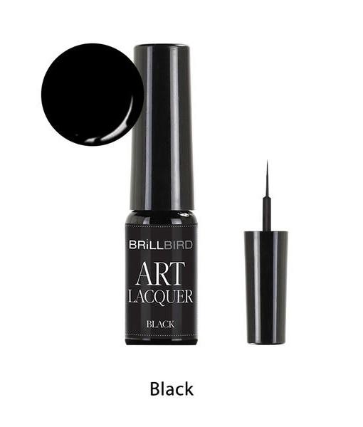 Art esmalte negro