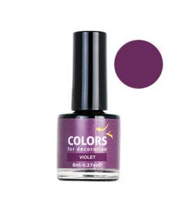 Colour Drop para decoración violeta