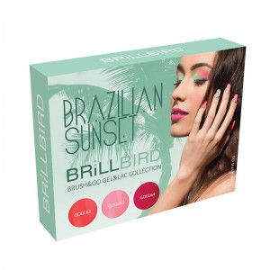 Kit Brush&Go Gel&Lac Brazilian Sunset