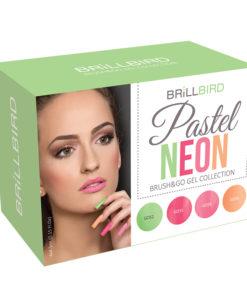 Kit Brush&Go Gel&Lac Pastel Neón
