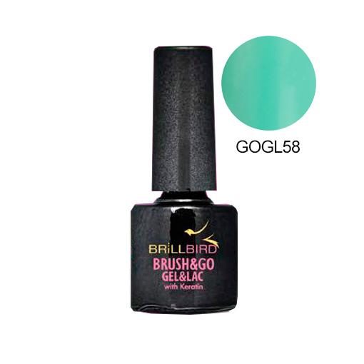 Brush&Go Gel&Lac GOGL58 8 ml.