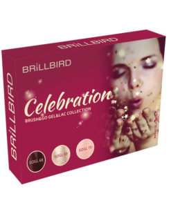 KIT BRUSH&GO GEL&LAC CELEBRATION